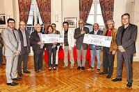 4874 euros reversés à VIE ET ESPOIR et LA LIGUE CONTRE LE CANCER