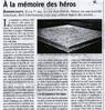 A la mémoire des héros  Paris Normandie Le 27 août 2015