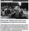 Ambiance western et danse  country entre générations à la résidence des Hautes-Bruyères