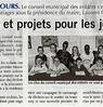 Bilan et projets  pour les jeunes  Paris Normandie Le 27 avril 2015