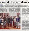 Un contrat donnant donnant  Paris Normandie Le 21 octobre 2015