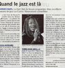 Quand le jazz est là  Paris Normandie Le 1er octobre 2015