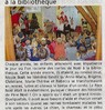 Le Père Noël est venu à la bibliothèque  Le Bulletin Le 15 décembre 2015