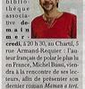 Michel Bussi au Chartil  Paris Normandie Le 13 octobre 2015