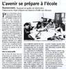 L'avenir se prépare à l'école  Paris Normandie Le 31 août