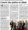 L'avenir des Jardins en débat Paris Normandie Le 28 janvier 2015