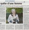 La quête d'une femme  Paris Normandie Le 3 octobre 2015