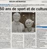 50 ans de sport et de culture  Paris Normandie Le 18 mai 2015