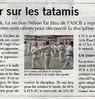 Retour sur les tatamis  Paris Normandie Le 16 septembre 2015