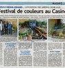 Festival de couleurs au Casino  Le Bulletin Le 29 septembre 2015