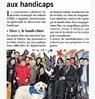 Les enfants sensibilisés au handicap Paris Normandie  Le 3 janvier 2015