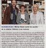 Michel Bussi confie les secrets  de la création littéraire à ses lecteurs   Paris Normandie Le 20 octobre 2015