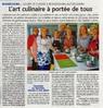 L'art culinaire à portée de tous  Le Bulletin Le 20 octobre 2015
