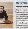 Ateliers théâtre pour les écoliers  Paris Normandie  Le 23 novembre 2015