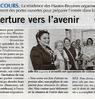 Ouverture vers l'avenir  Paris Normandie Le 25 mai 2015