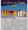 Les tableaux du Casino  Le 26 mai 2015 Le Bulletin