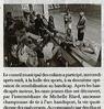 Sensibilisation au handicap  Paris Normandie Le 1er juin 2015
