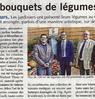 Des bouquets de légumes  Paris Normandie Le 23 septembre 2015