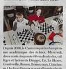Direction la finale d'échecs pour l'école Saint-Roch  Paris Normandie Le 26 mars 2016