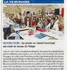 Les jeunes du CME ont visité les locaux de l'ADAPT  Paris Normandie Le 29 avril 2016