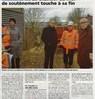 Le chantier du mur de soutènement  touche à sa fin  Le bulletin Le 9 février