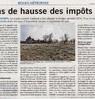 Pas de hausse des impôts  Paris Normandie Le 11 avril 2016