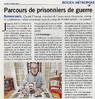 Parcours de prisonniers de guerre  Paris Normandie Le 25 avril 2016