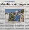 Des chantiers au programme  Paris Normandie Paru le 25 novembre 2016