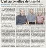 L'art au bénéfice de la santé  Paris Normandie Paru le 21 septembre