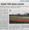 Le stade fait peau neuve Le 15 juillet 2016  Paris Normandie