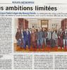 Des ambitions limitées  Paris Normandie Le 27 janvier 2016