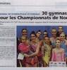 30 gymnastes en lice pour les championnats de Normandie  Le Bulletin Paru le 22 novembre 2016