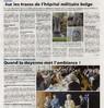 Sur les traces de l'Hôpital Militaire Belge  Quand la doyenne met l'ambiance  Le Bulletin