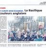 La Basilique aux couleurs anglaises  Le Bulletin Le 28 juin 2016