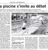 La piscine s'invite au débat  Paris Normandie Le 3 mars 2016