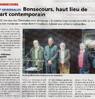 Bonsecours, haut lieu de l'art contemporain  Le Bulletin Le 26 janvier 2016