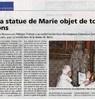 La statue de Marie objet de toutes les attentions  Le Bulletin Le 15 mars 2016