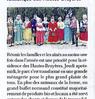 Après-midi folklorique aux Hautes Bruyères Paris normandie Le 22 juin 2016