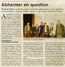 Alzheimer en question