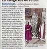 La Vierge est de retour  Paris Normandie Le 16 mars 2016